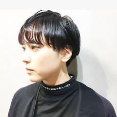 ハンサムショート ショートヘア ショート ストリート ヘアスタイルや髪型の写真・画像