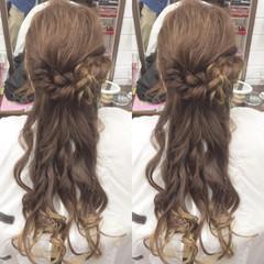 デート エレガント 結婚式 ロング ヘアスタイルや髪型の写真・画像