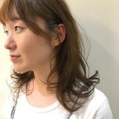 涼しげ 外国人風 大人かわいい ハイライト ヘアスタイルや髪型の写真・画像