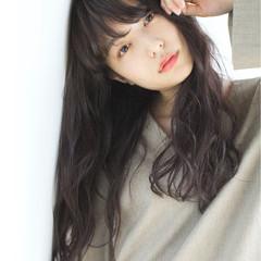 外国人風カラー こなれ感 冬 大人女子 ヘアスタイルや髪型の写真・画像