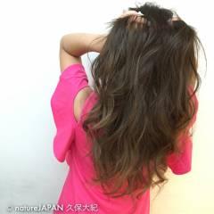 ガーリー グラデーションカラー マルサラ 外国人風 ヘアスタイルや髪型の写真・画像