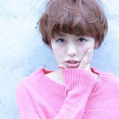 アッシュ ガーリー マッシュ ピンク ヘアスタイルや髪型の写真・画像
