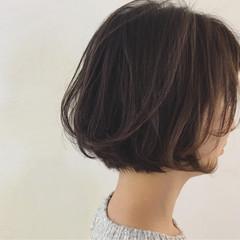 ショート ショートボブ リラックス ナチュラル ヘアスタイルや髪型の写真・画像