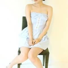 夏 モテ髪 フェミニン 涼しげ ヘアスタイルや髪型の写真・画像