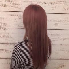 波ウェーブ ロング 外国人風フェミニン 外国人風カラー ヘアスタイルや髪型の写真・画像