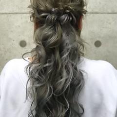 ヘアアレンジ ロング 結婚式 二次会 ヘアスタイルや髪型の写真・画像