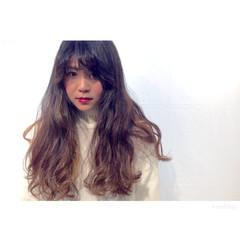 ガーリー ゆるふわ パーマ 外国人風 ヘアスタイルや髪型の写真・画像