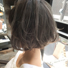 アッシュ ストリート 外国人風 ハイライト ヘアスタイルや髪型の写真・画像