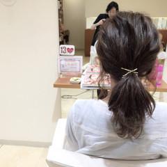 簡単ヘアアレンジ 夏 大人かわいい 結婚式 ヘアスタイルや髪型の写真・画像