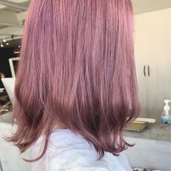 ブリーチオンカラー ブリーチ必須 透明感カラー ナチュラル ヘアスタイルや髪型の写真・画像