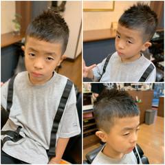 メンズ メンズヘア ナチュラル 子供 ヘアスタイルや髪型の写真・画像
