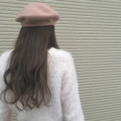 冬 デート 外国人風 大人かわいい ヘアスタイルや髪型の写真・画像