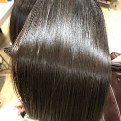 髪質改善 ミディアム 髪の病院 縮毛矯正 ヘアスタイルや髪型の写真・画像
