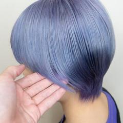 デザインカラー ハイトーンカラー ブリーチカラー 派手髪 ヘアスタイルや髪型の写真・画像