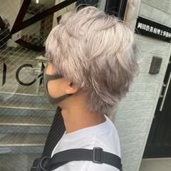 ナチュラル ショート ブリーチ ブリーチオンカラー ヘアスタイルや髪型の写真・画像