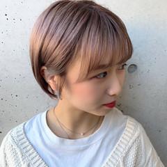ブリーチカラー ガーリー ハイトーン ハイトーンカラー ヘアスタイルや髪型の写真・画像