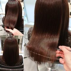 髪質改善 美髪 縮毛矯正 艶髪 ヘアスタイルや髪型の写真・画像
