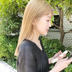 ハイトーン デート 大人女子 外国人風 ヘアスタイルや髪型の写真・画像