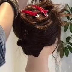 ロング まとめ髪 ナチュラル 大人女子 ヘアスタイルや髪型の写真・画像