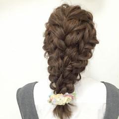 ヘアアレンジ モテ髪 ゆるふわ フェミニン ヘアスタイルや髪型の写真・画像
