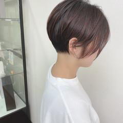 大人可愛い ベリーショート ショートヘア ナチュラル ヘアスタイルや髪型の写真・画像