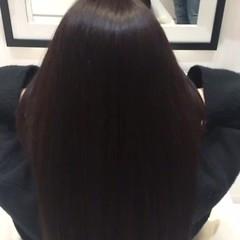トリートメント ストレート ロング 艶髪 ヘアスタイルや髪型の写真・画像