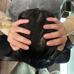 頭皮ケア ツヤ髪 ナチュラル ヘアケア ヘアスタイルや髪型の写真・画像
