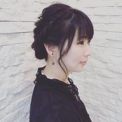 ヘアアレンジ 大人女子 結婚式 エレガント ヘアスタイルや髪型の写真・画像