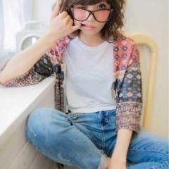 ストリート パンク 外国人風 大人かわいい ヘアスタイルや髪型の写真・画像
