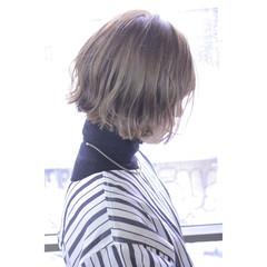 マッシュ ボブ 色気 ハーフアップ ヘアスタイルや髪型の写真・画像