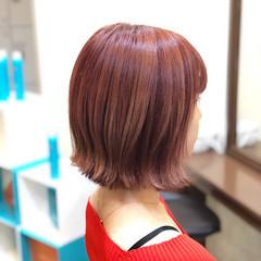 ミディアム 外国人風 ブリーチ 透明感 ヘアスタイルや髪型の写真・画像