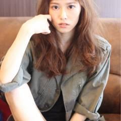 マルサラ ゆるふわ 大人かわいい ロング ヘアスタイルや髪型の写真・画像
