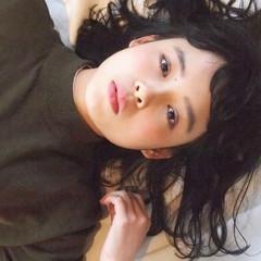 暗髪 ナチュラル ミディアム 黒髪 ヘアスタイルや髪型の写真・画像