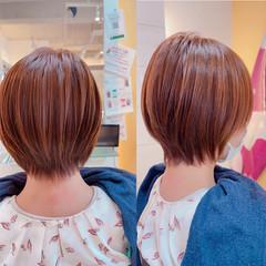 ナチュラル ショート ショートヘア ウルフカット ヘアスタイルや髪型の写真・画像