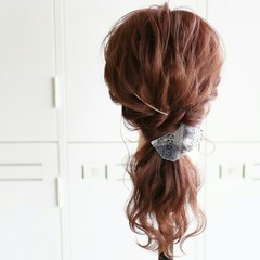 エレガント 大人かわいい 大人女子 外国人風 ヘアスタイルや髪型の写真・画像