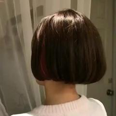 ショート ボブ 色気 大人かわいい ヘアスタイルや髪型の写真・画像