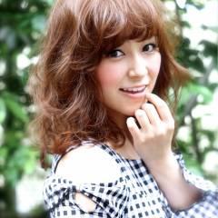 モテ髪 コンサバ デジタルパーマ フェミニン ヘアスタイルや髪型の写真・画像