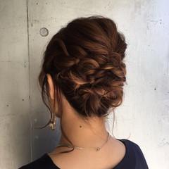 アディクシーカラー 結婚式 ボブ ヘアアレンジ ヘアスタイルや髪型の写真・画像