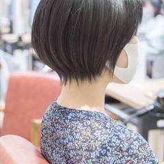 ショート ショートヘア ショートボブ 40代 ヘアスタイルや髪型の写真・画像