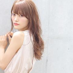 女子会 ロング デート リラックス ヘアスタイルや髪型の写真・画像