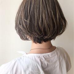 ナチュラル ハイライト 大人女子 女子力 ヘアスタイルや髪型の写真・画像