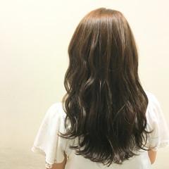 外国人風 ブラウン ウェットヘア ハイライト ヘアスタイルや髪型の写真・画像