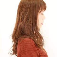 艶髪 ナチュラル ゆるふわ ウェーブ ヘアスタイルや髪型の写真・画像