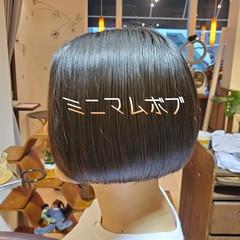 ショート ショートボブ ショートヘア フェミニン ヘアスタイルや髪型の写真・画像