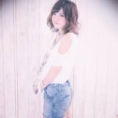 パーマ モテ髪 ストリート ガーリー ヘアスタイルや髪型の写真・画像