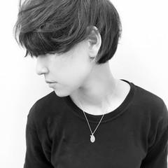 ストレート 暗髪 黒髪 前髪あり ヘアスタイルや髪型の写真・画像