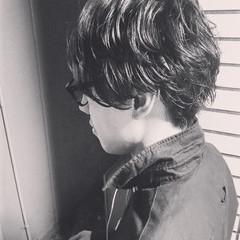 ボーイッシュ アウトドア 黒髪 ショート ヘアスタイルや髪型の写真・画像