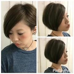 グラデーションカラー ブルージュ かっこいい 大人かわいい ヘアスタイルや髪型の写真・画像