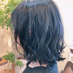 オフィス ガーリー 黒髪 ヘアアレンジ ヘアスタイルや髪型の写真・画像