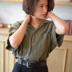 ナチュラル かわいい ボブ 大人女子 ヘアスタイルや髪型の写真・画像